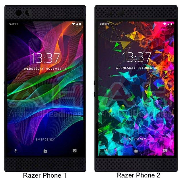 razer-phone 1 et 2