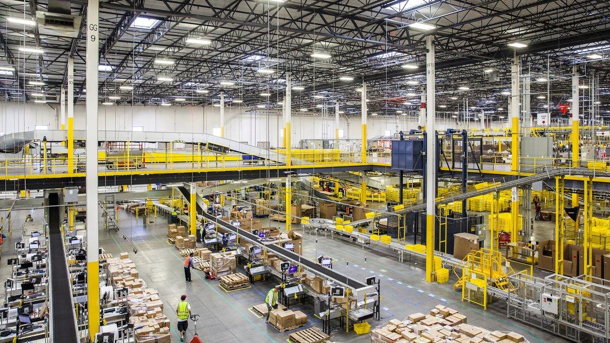 Amazon entrepôt © Getty Images
