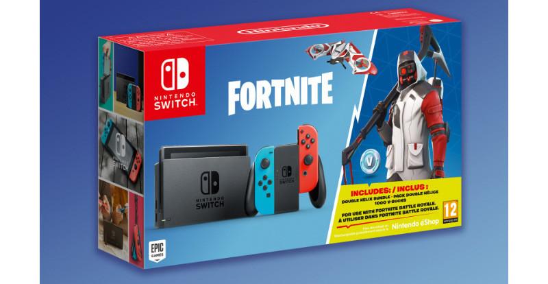 Nintendo Switch Bundle Fortnite