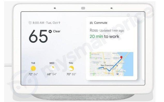 Google Home Hub leak