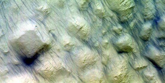 Diable de poussière Mars