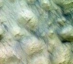 La planète Mars défigurée par une tempête