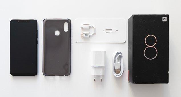 Xiaomi Mi 8 Test - Coffret