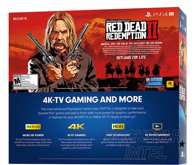 red dead redemption 2 pack ps4 pro