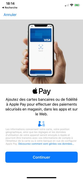 apple pay - configuration