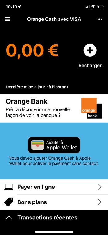 orange cash installation