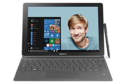 Samsung Galaxy Book 1212 pouces 4 Go 128 Go avec écran tactile 2160 x 1440 Intel HD Graphics 620 12 Heure(s) Windows 10 64 bits 1,1 kg Dual Core Intel