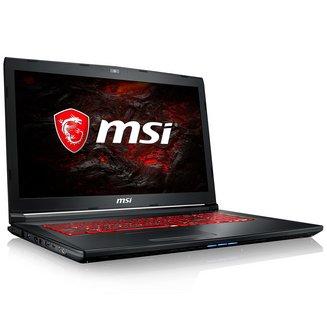 MSI GL72M 7RDX-1472XFR1 To 1920 x 1080 8 Go Intel Core i5 17,3 pouces 6 Cellules NVIDIA GeForce GTX 1050 Free DOS (sans OS) 2,7 kg Quad Core