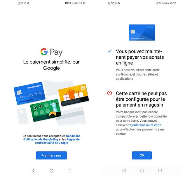 google pay configuration