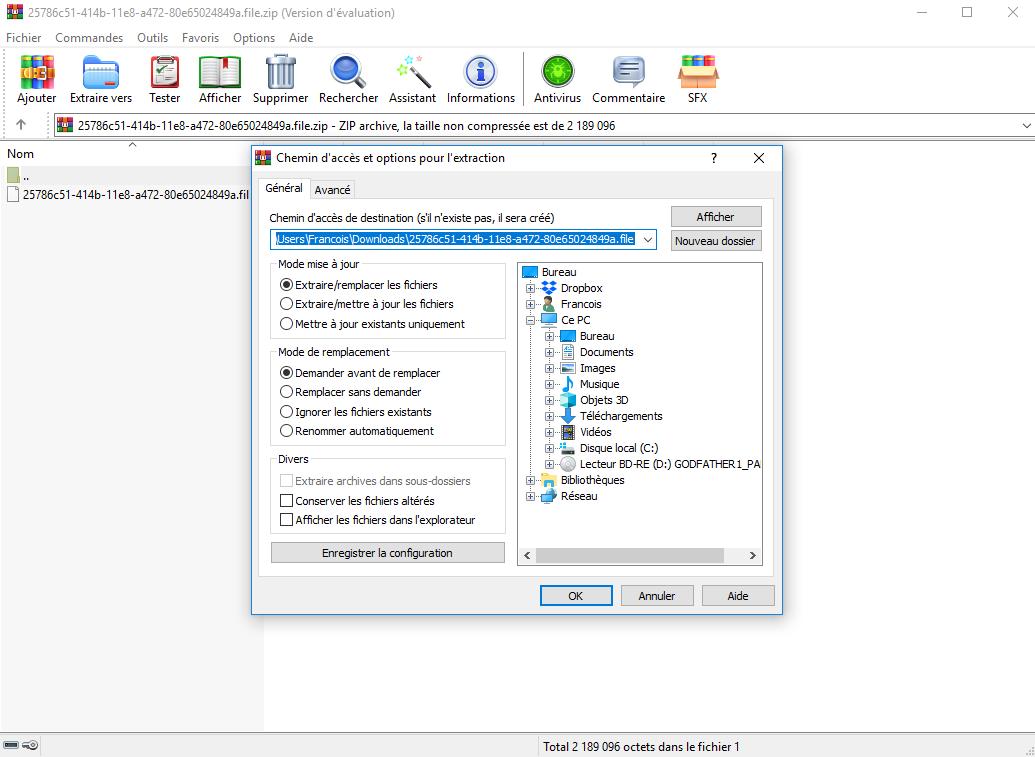 télécharger winrar gratuit français pour windows 7 32bit