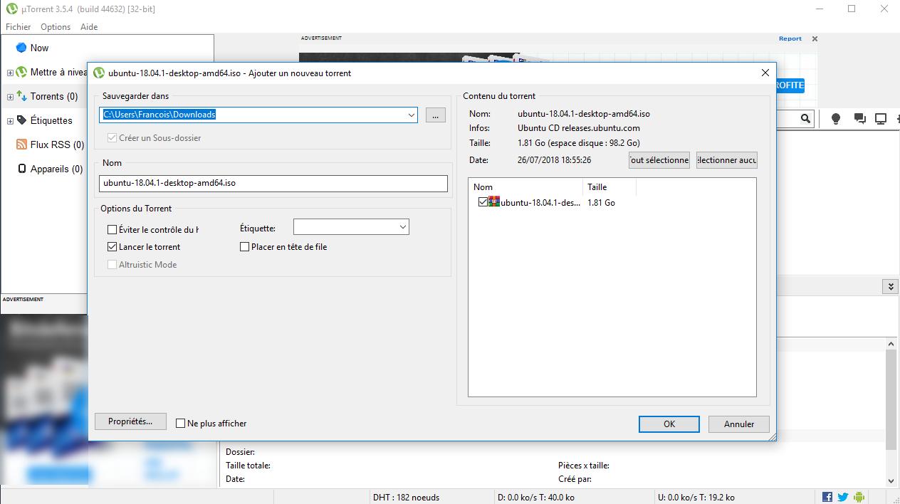 logiciel utorrent windows 7