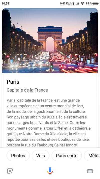 google assistant nouveau design