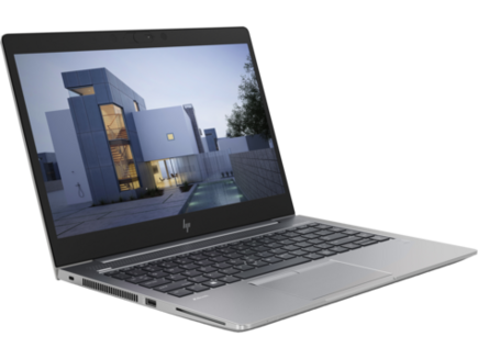 HP ZBook 14u G5 Mobile Workstation14 pouces 1920 x 1080 Intel Core i5 256 Go 1,48 kg Windows 10 Professionnel 64 bits Dual Core AMD Radeon WX 3100