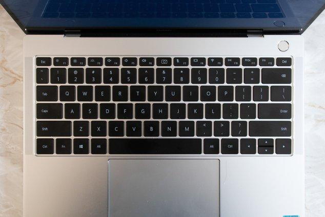 matebook x pro - clavier