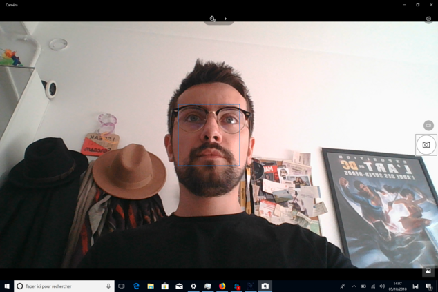 matebook x pro - webcam