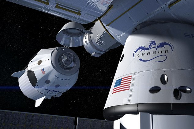 spacex capsule iss