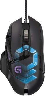 Logitech G502 Proteus Spectrumfilaire Gamer Gamer Symétrique Roulette de Défilement 11