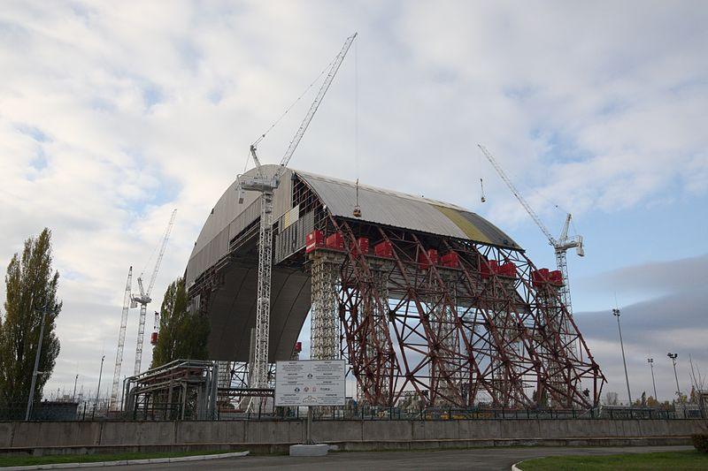 Arche de confinement Tchernobyl