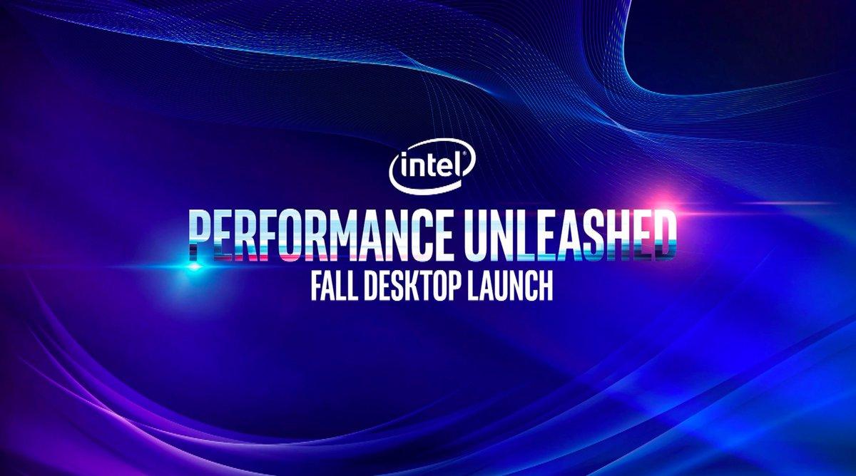 Intel conférence 9e génération