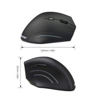 TeckNet verticale ergonomiquesans fil 6 boutons Pour Droitier Uniquement RF sans fil 2000 dpi Ergonomique