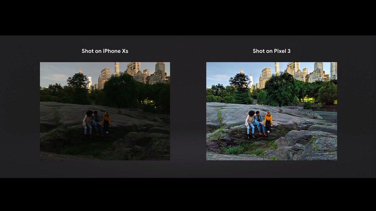 Google Pixel 3 lowlight