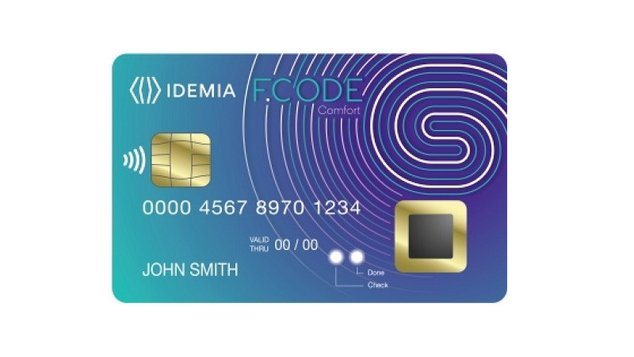 idemia biometric card