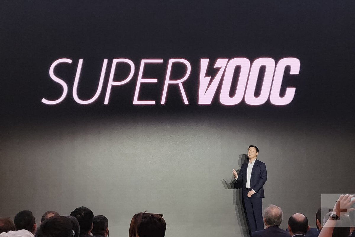 Oppo chargeur Super VOOC