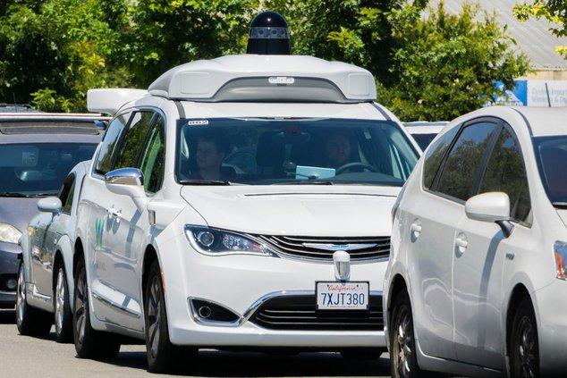 waymo voiture autonome google