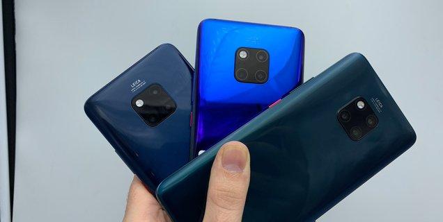 Android 10 débarque sur les Huawei P30, P30 Pro, Mate 20 et Mate 20 Pro