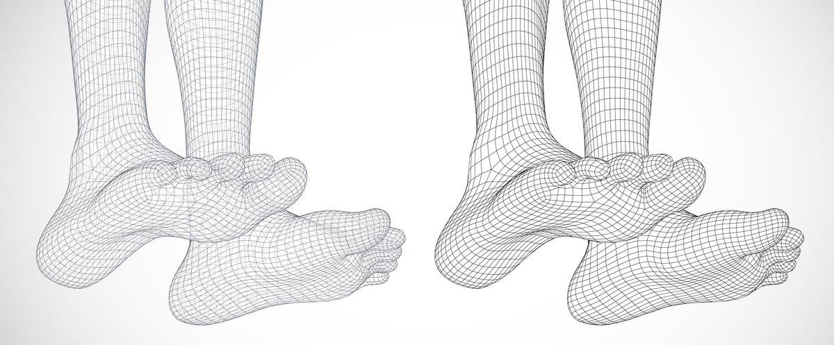 Scan pieds 3D