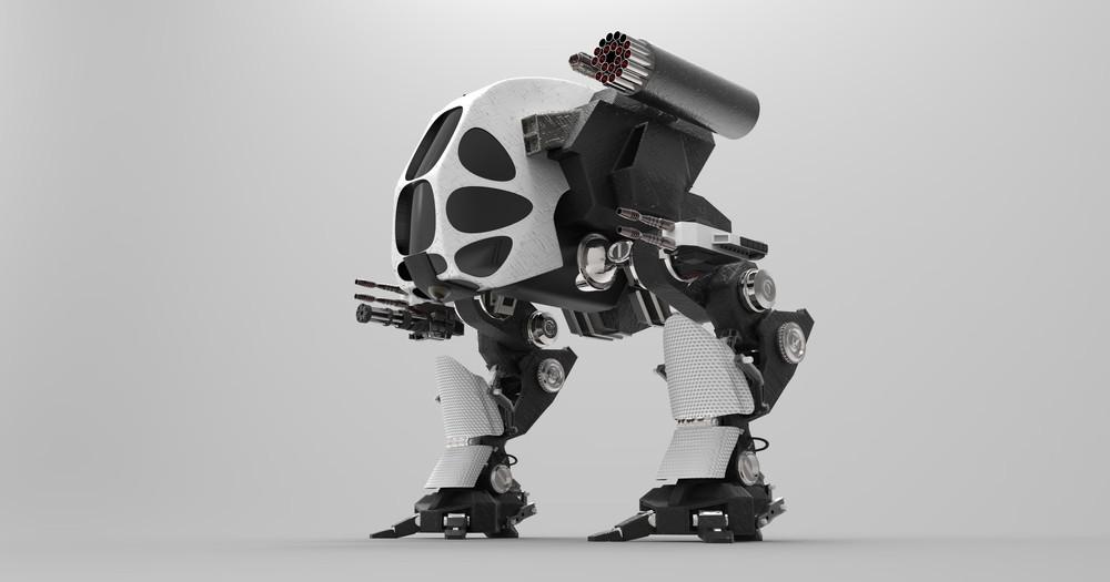Robot soldat