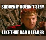 George R.R. Martin compare Trump au détestable Joffrey Baratheon