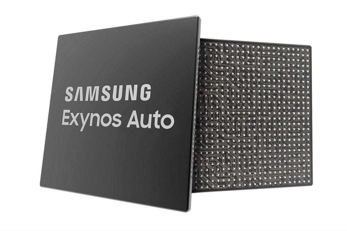 Samsung Exynos Auto puce