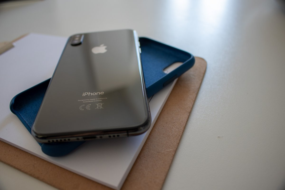 iPhone XS test