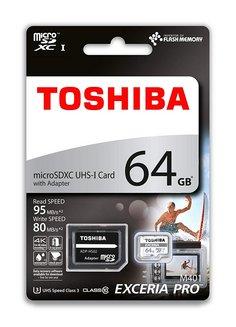 Toshiba Exceria64 Go 80MB/s microSDXC