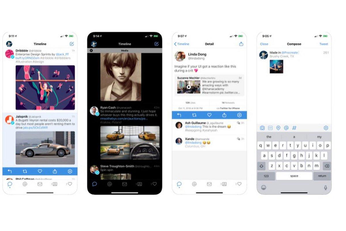 Tweetbot iOS OLED