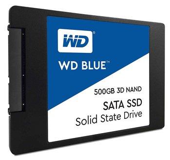 WD Blue 3D Nand Sata SSD500 Go Interne SSD SATA 6.0 Gb/s