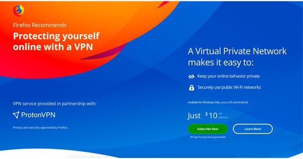 Mozilla Proton VPN