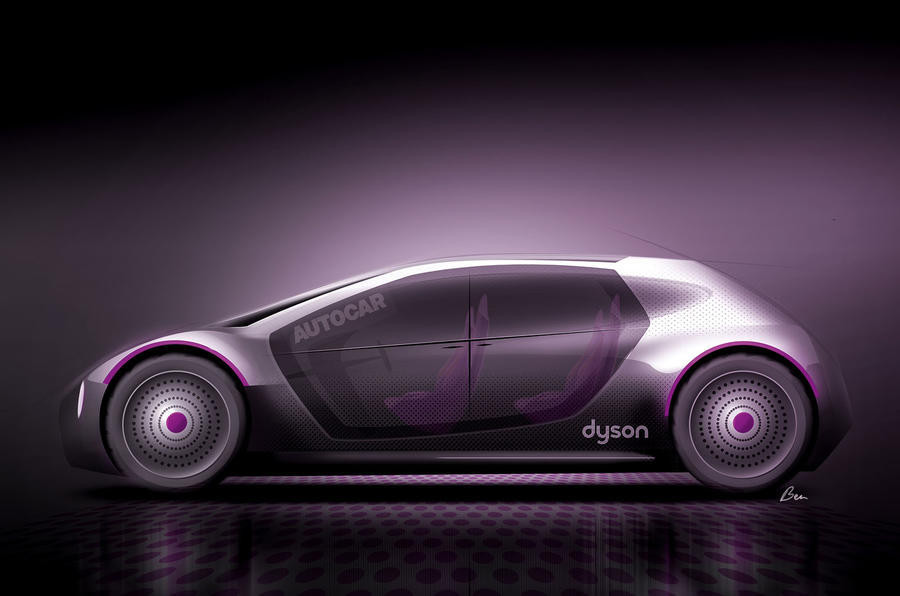 Dyson voiture electrique
