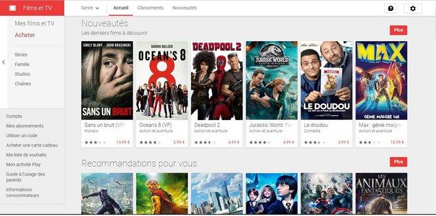 google play films 4k
