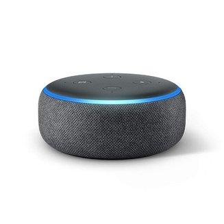 Amazon Echo Dot - 3ème génération Tissu anthraciteAnthracite