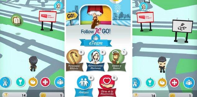 Follow JC Go gameplay