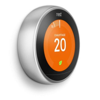 Nest Learning Thermostat Acier