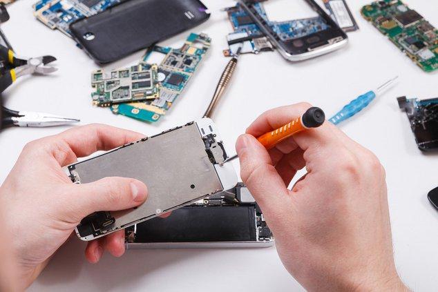 Reparation smartphone