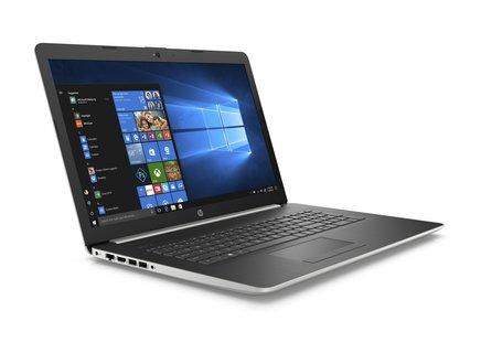 HP 17-BY0009NF1 To 4 Go Intel Core i5 17,3 pouces 1600 x 900 128 Go avec écran tactile 2,45 kg 10 Heure(s) AMD Radeon 520 Quad Core Windows 10 Famille 64 bits