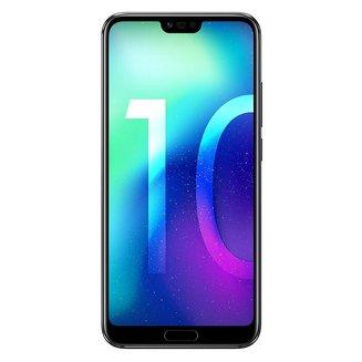 """Honor 10 Noir 64GoMonobloc avec flash compatible MP3 3G avec autofocus avec écran tactile Bluetooth 4G 3G+ 3G+ 3G++ avec détection des visages avec correction des yeux rouges Android 4G LTE Smartphone Double SIM 4G 4 Go avec APN 16 Mpixels Téléphone portable 153,0 g Tactile Kirin 970 3G HSDPA+ 4G+ 5,84"""" avec APN 24 Mpixels avec zoom numérique Honor 10 Noir 64 Go"""