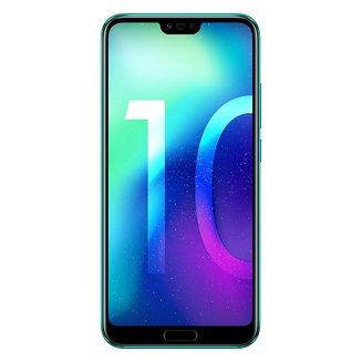 """Honor 10 Vert 64GoMonobloc avec flash compatible MP3 3G avec autofocus avec écran tactile Bluetooth 4G 3G+ 3G+ 3G++ avec détection des visages avec correction des yeux rouges Android 4G LTE Smartphone Double SIM 4G 4 Go avec APN 16 Mpixels Téléphone portable 153,0 g Tactile Kirin 970 3G HSDPA+ 4G+ 5,84"""" avec APN 24 Mpixels avec zoom numérique Honor 10 64 Go Vert"""