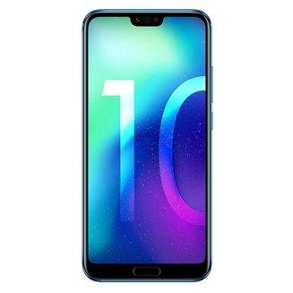 """Honor 10 Bleu 64GoMonobloc avec flash compatible MP3 3G avec autofocus avec écran tactile Bluetooth 4G 3G+ 3G+ 3G++ avec détection des visages avec correction des yeux rouges Android 4G LTE Smartphone Double SIM 4G 4 Go avec APN 16 Mpixels Téléphone portable 153,0 g Tactile Kirin 970 3G HSDPA+ 4G+ 5,84"""" avec APN 24 Mpixels avec zoom numérique Honor 10 Bleu 64 Go"""