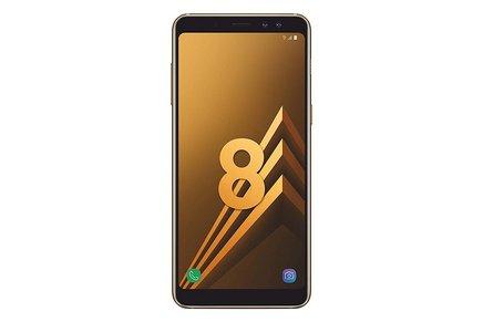 Samsung Galaxy A8 (2018) Or topaze 32GoMicroSD avec écran tactile Android Smartphone Double SIM 4 Go avec APN 16 Mpixels 24h 5,6 pouces Galaxy A8 Exynos 7885 Octa-core Monobloc avec flash compatible MP3 3G avec autofocus avec GPS Bluetooth 4G avec WiFi 3G+ 3G+ 3G++ 32 Go 4G LTE 4G Or Topaze 3G HSDPA+ 4G+