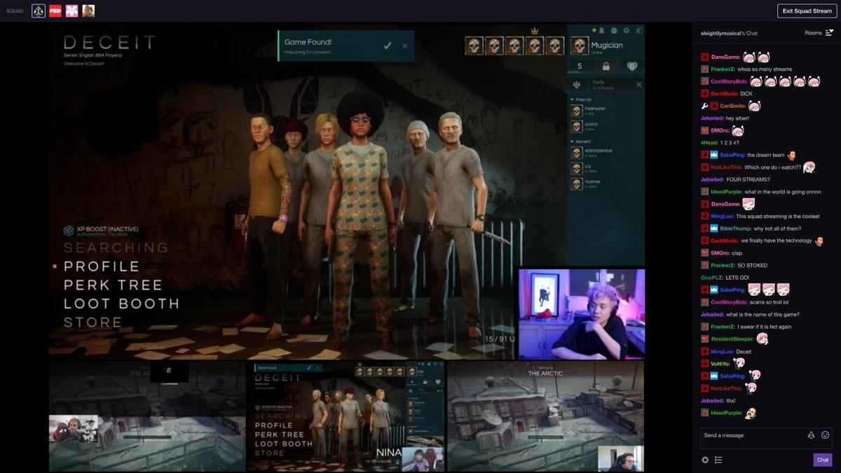 Twitch Squad Team